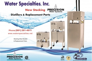 Precision Water Distiller all PWS models