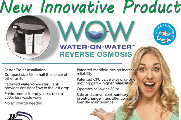NEW! Water On Water Reverese Osmosis